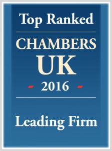 Chambers - TopRanked in_UK_2016_firm